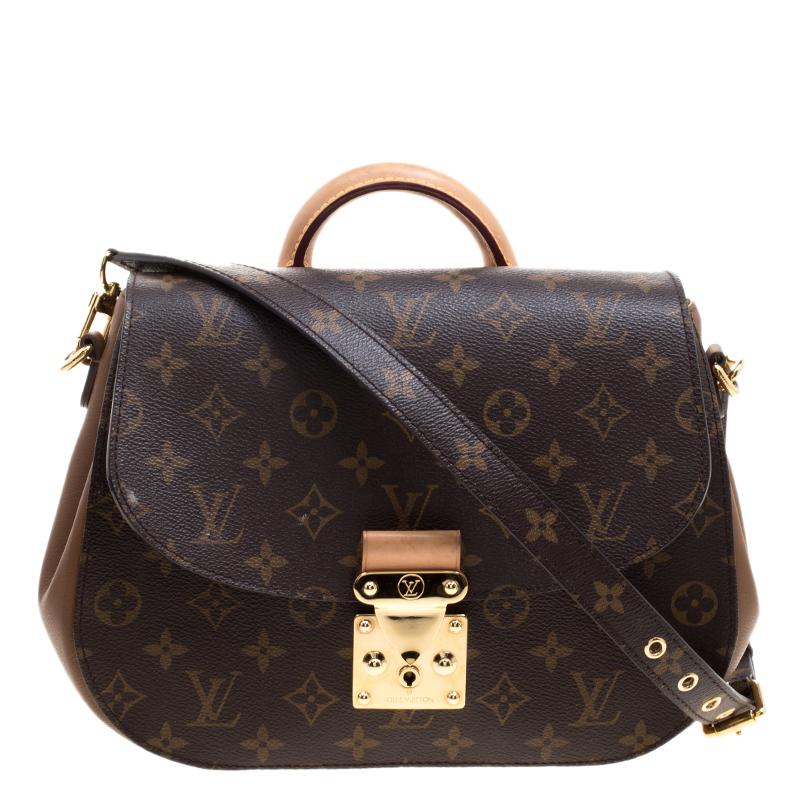 b817fef82683 Buy Louis Vuitton Havane Monogram Canvas Eden MM Bag 121183 at best ...