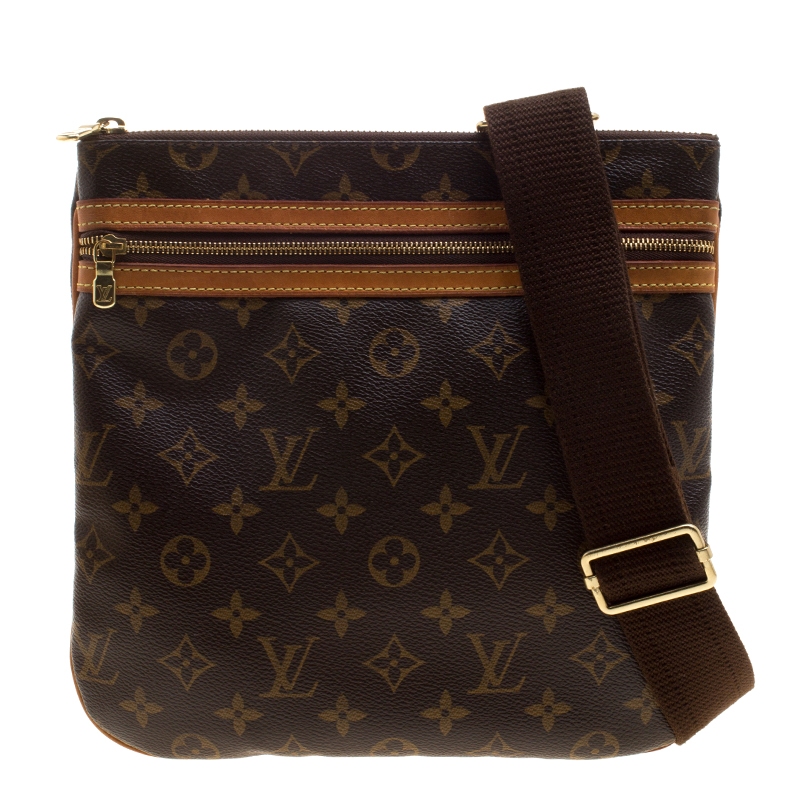 Louis Vuitton Monogram Canvas Bosp Messenger Bag