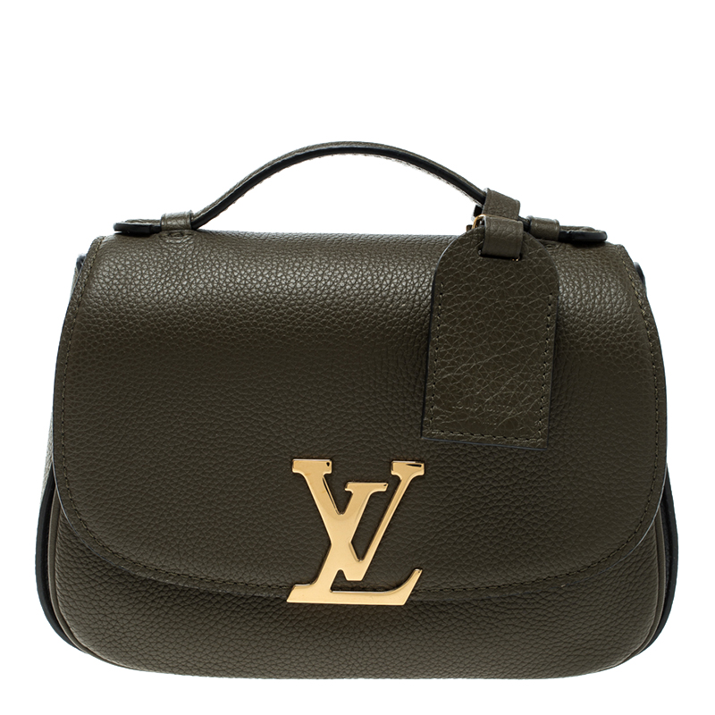 1cb77f94eb3d Louis Vuitton Dark Green Leather Neo Vivienne Bag. nextprev. prevnext .