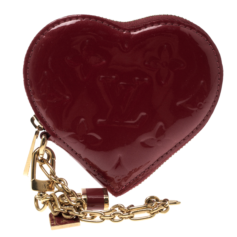 748902125 ... Louis Vuitton Pomme D´Amour Monogram Vernis Heart Coin Purse. nextprev.  prevnext