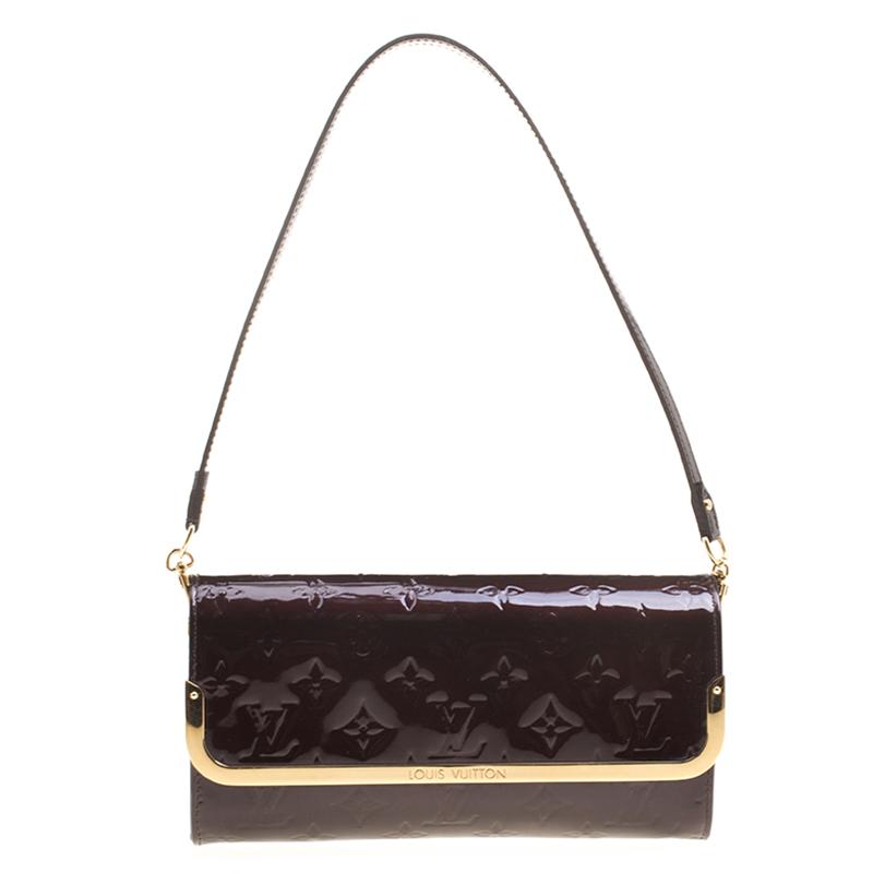 4cd351af2178 ... Louis Vuitton Amarante Monogram Vernis Rossmore MM Clutch. nextprev.  prevnext