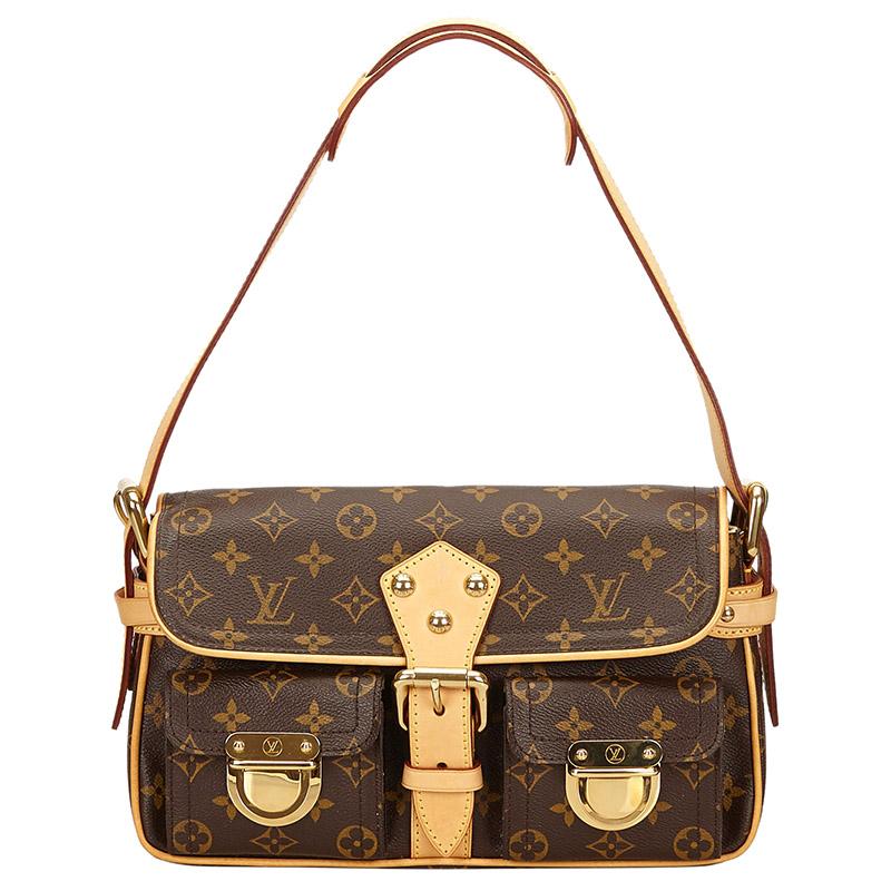 d7c90ef37a Buy Louis Vuitton Monogram Canvas Hudson PM Bag 127737 at best price ...