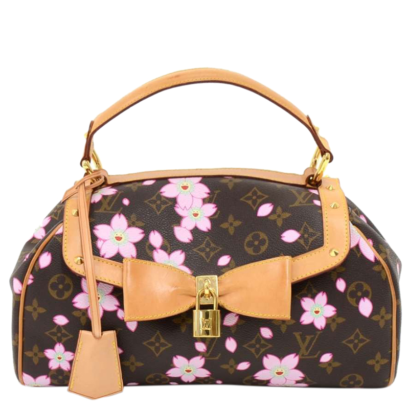 5bd9250eebc7 ... Louis Vuitton Monogram Canvas Limited Edition Cherry Blossom Sac Retro  PM Bag. nextprev. prevnext