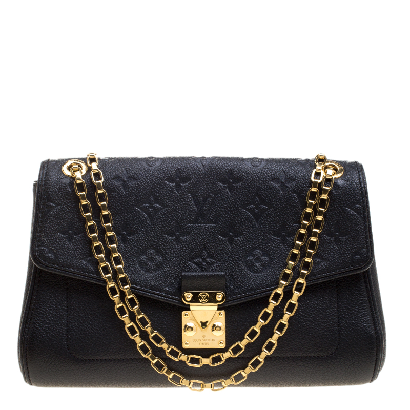 125c4114567e ... Louis Vuitton Black Monogram Empreinte Leather St Germain PM Bag.  nextprev. prevnext