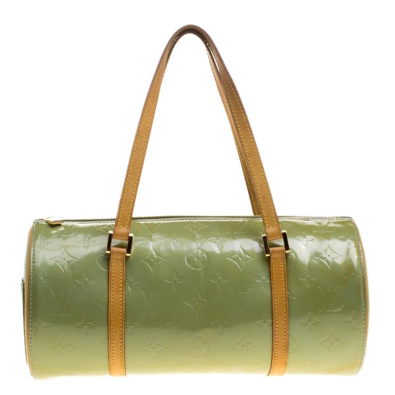 3d47fe46a94f0 ... Louis Vuitton Mint Green Monogram Vernis Bedford Bag. nextprev. prevnext