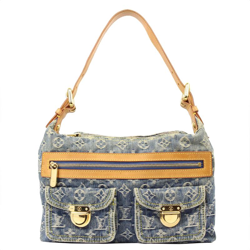 ... Louis Vuitton Blue Monogram Denim Baggy PM Bag. nextprev. prevnext 23e998bb1a637