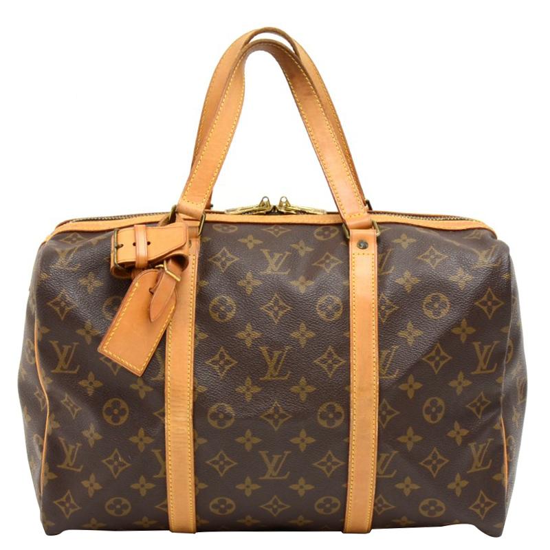 090d69543c Buy Louis Vuitton Monogram Canvas Sac Souple 35 Bag 131089 at best ...