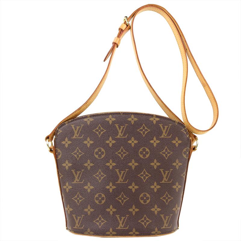 Buy Louis Vuitton Monogram Canvas Drouot Bag 133086 at best price  1d1feae5bd00