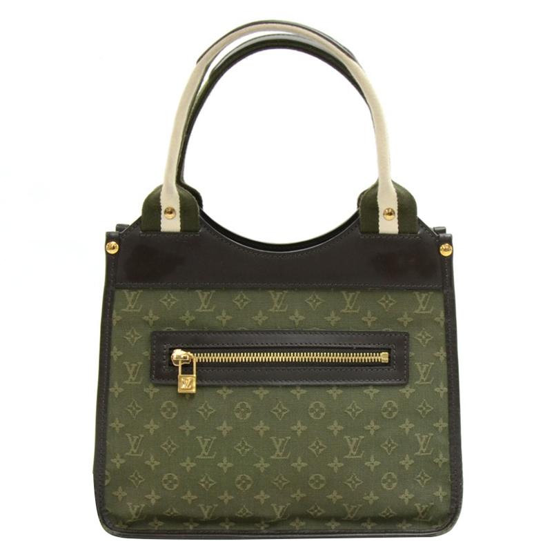 pourtant pas vulgaire grand assortiment conception adroite Louis Vuitton Khaki Monogram Mini Lin Sac Kathleen Bag