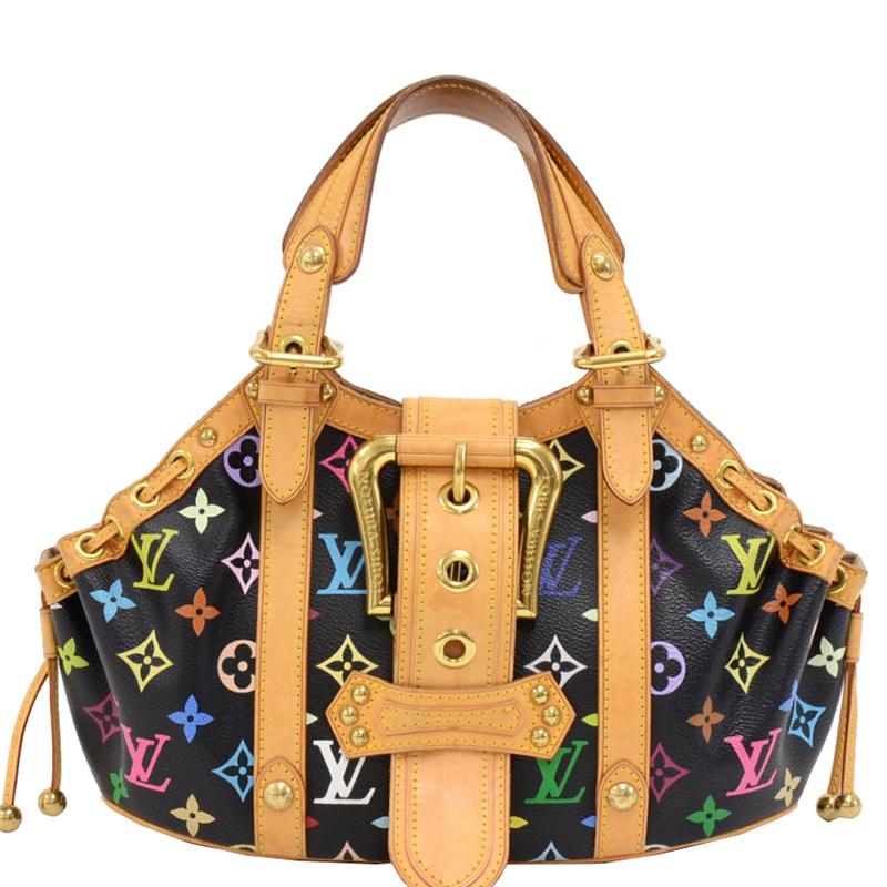 ... Louis Vuitton Black Monogram Multicolore Theda PM Bag. nextprev.  prevnext 9ae2640f8ad53