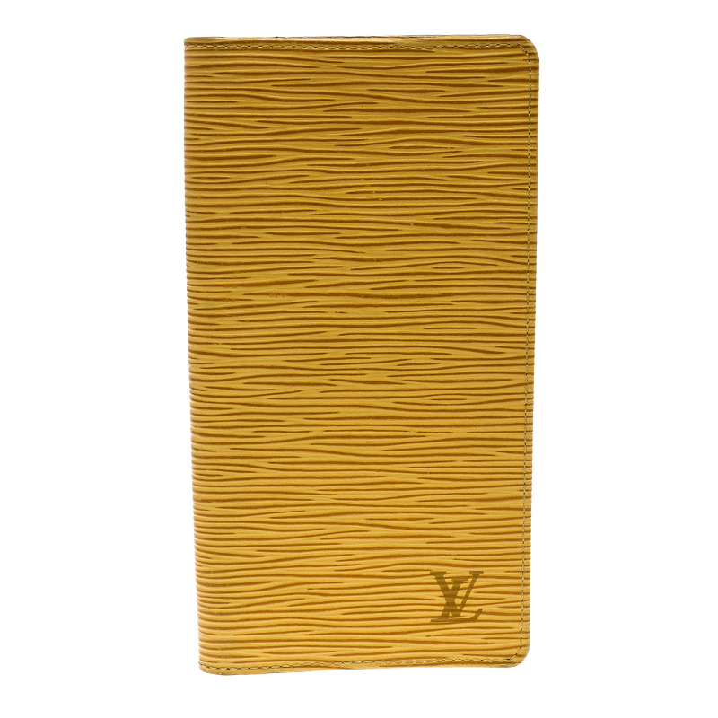 3f549a4da790 Buy Louis Vuitton Tassil Yellow Epi Leather Credit Card and Currency ...