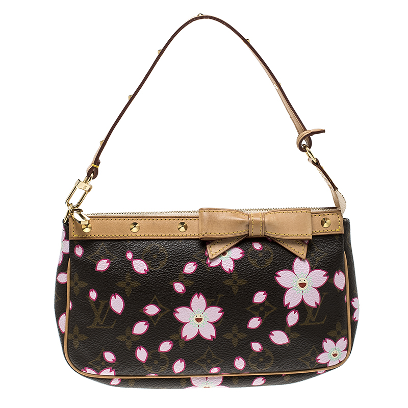7fed34f67d30 ... Louis Vuitton Monogram Canvas Cherry Blossom Pochette Accessories.  nextprev. prevnext
