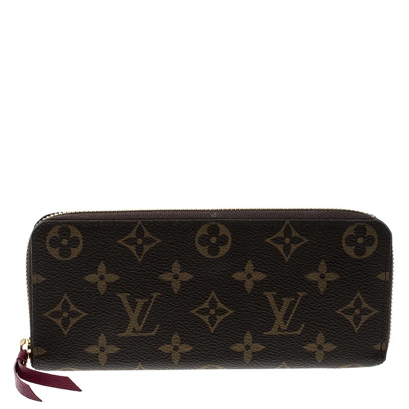 5045688fe4f0 Louis Vuitton Fuchsia Monogram Canvas Clemence Wallet. nextprev. prevnext .