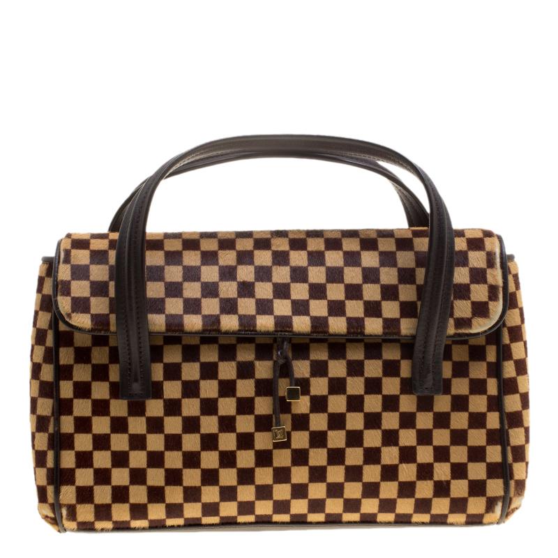 2e6695e59def ... Louis Vuitton Damier Sauvage Calfhair Limited Edition Lionne Spawn Bag.  nextprev. prevnext
