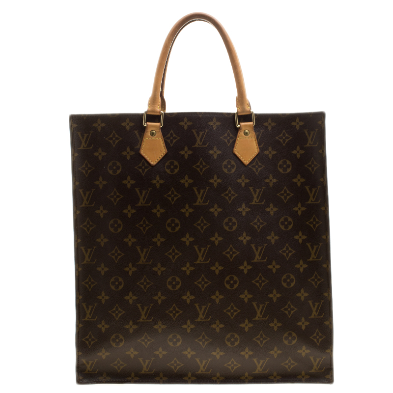 2d1a35a63efb9 Buy Louis Vuitton Monogram Canvas Sac Plat Tote 138504 at best price ...