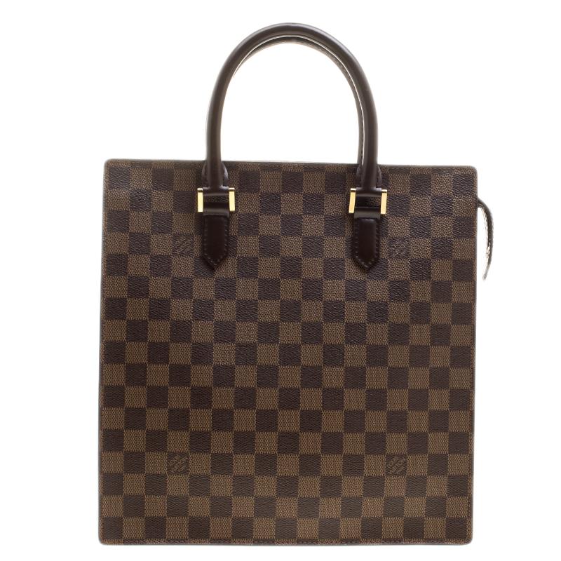 f99b45ef955a Louis Vuitton Damier Ebene Canvas Venice Sac Plat Bag. nextprev. ...