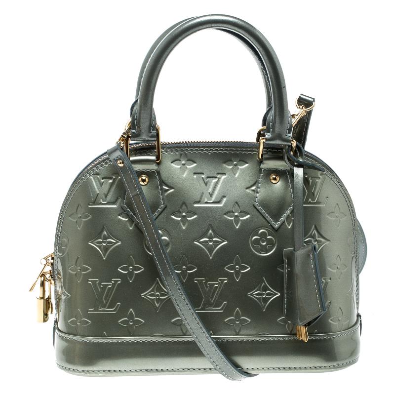 df62330cdc51 ... Louis Vuitton Metallic Green Monogram Vernis Alma BB Bag. nextprev.  prevnext