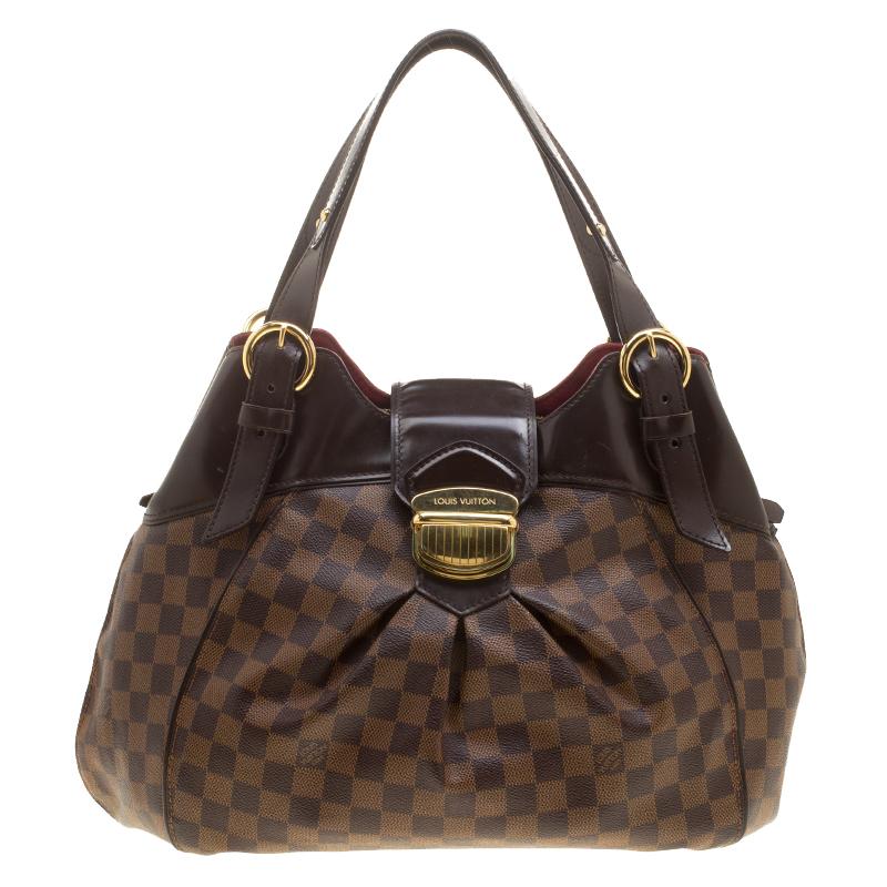 d49fc8f9347 ... Louis Vuitton Damier Ebene Canvas Sistina GM Bag. nextprev. prevnext