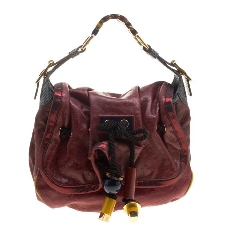 f1c34cc09424 ... Louis Vuitton Paprika Monogram Limited Edition Epices Kalahari PM Bag.  nextprev. prevnext