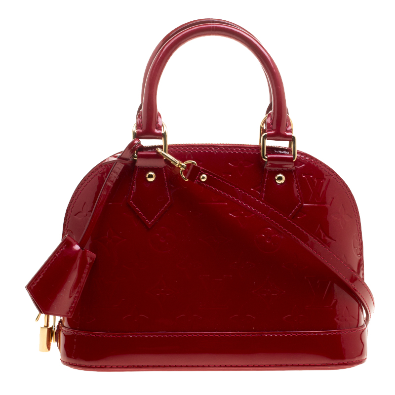 ac69005b5c69 ... Louis Vuitton Cerise Monogram Vernis Alma BB Bag. nextprev. prevnext