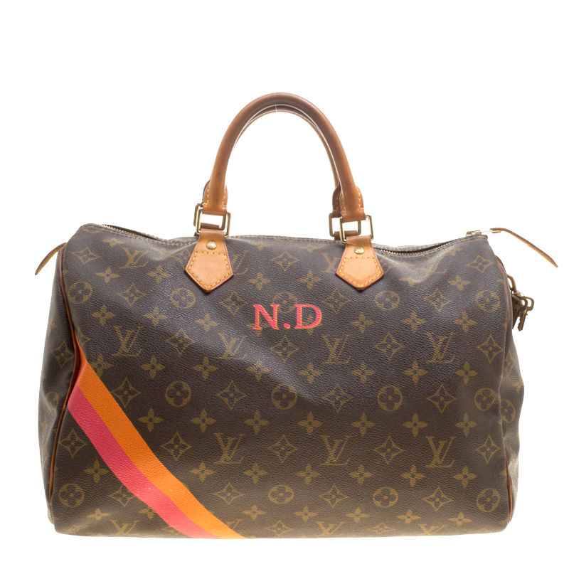 5a6c17a0bc85 Buy Louis Vuitton Mon Monogram Canvas Speedy 35 143459 at best price ...