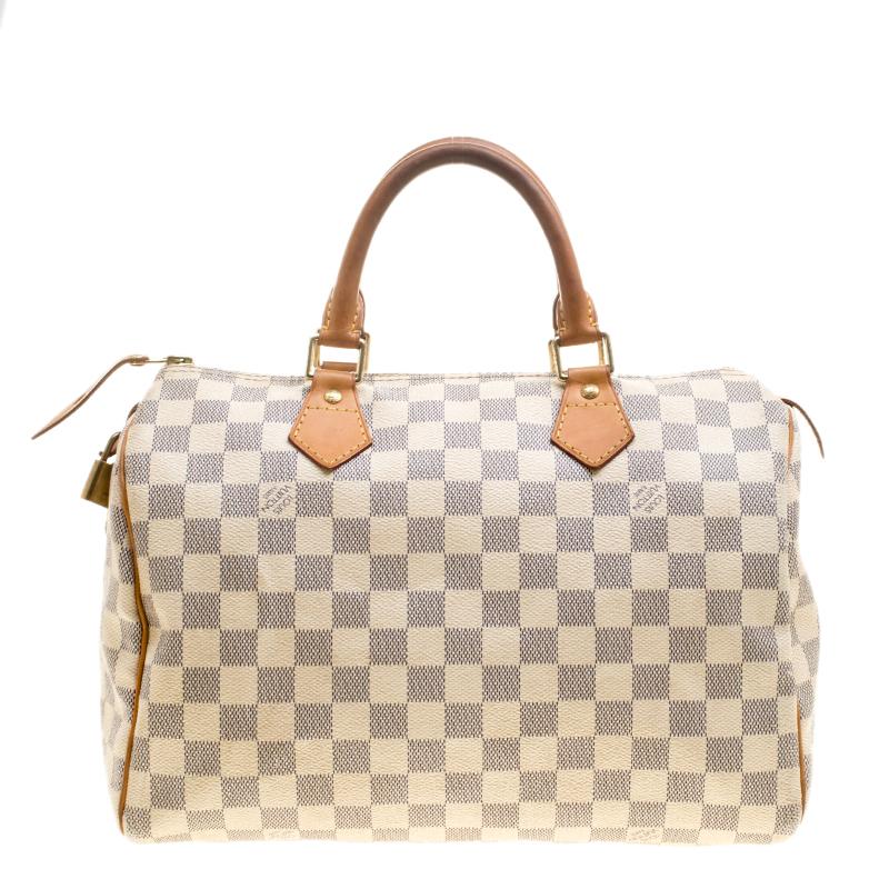 5c63848900b Buy Louis Vuitton Damier Azur Canvas Speedy 30 143463 at best price ...