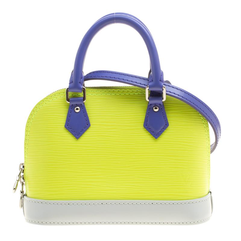 ca56b584411c ... Louis Vuitton Tricolor Epi Leather Nano Alma Bag. nextprev. prevnext