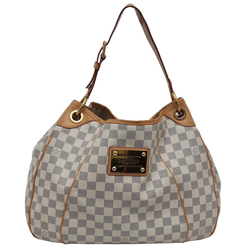 Louis Vuitton Damier Azur Canvas Galleria PM Bag