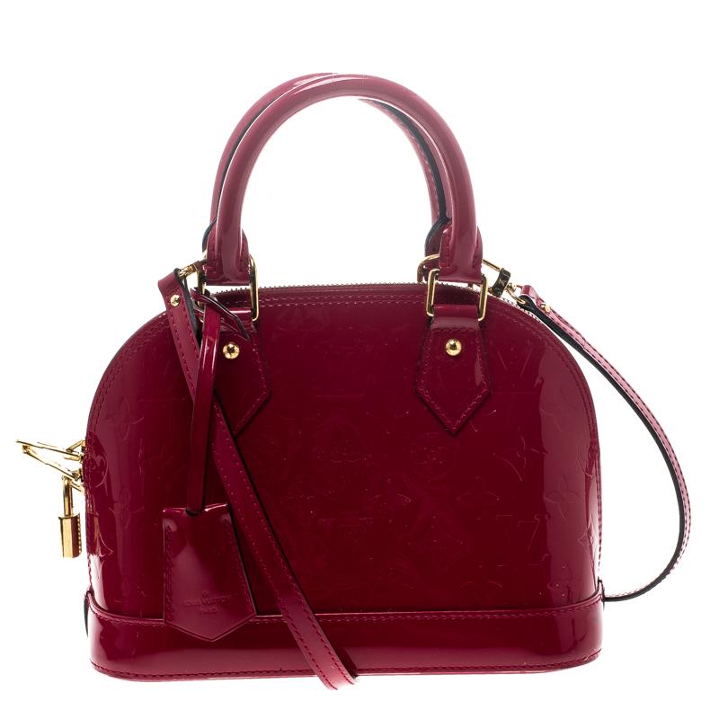 f78bfe544b6e ... Louis Vuitton Indian Rose Monogram Vernis Alma BB Bag. nextprev.  prevnext