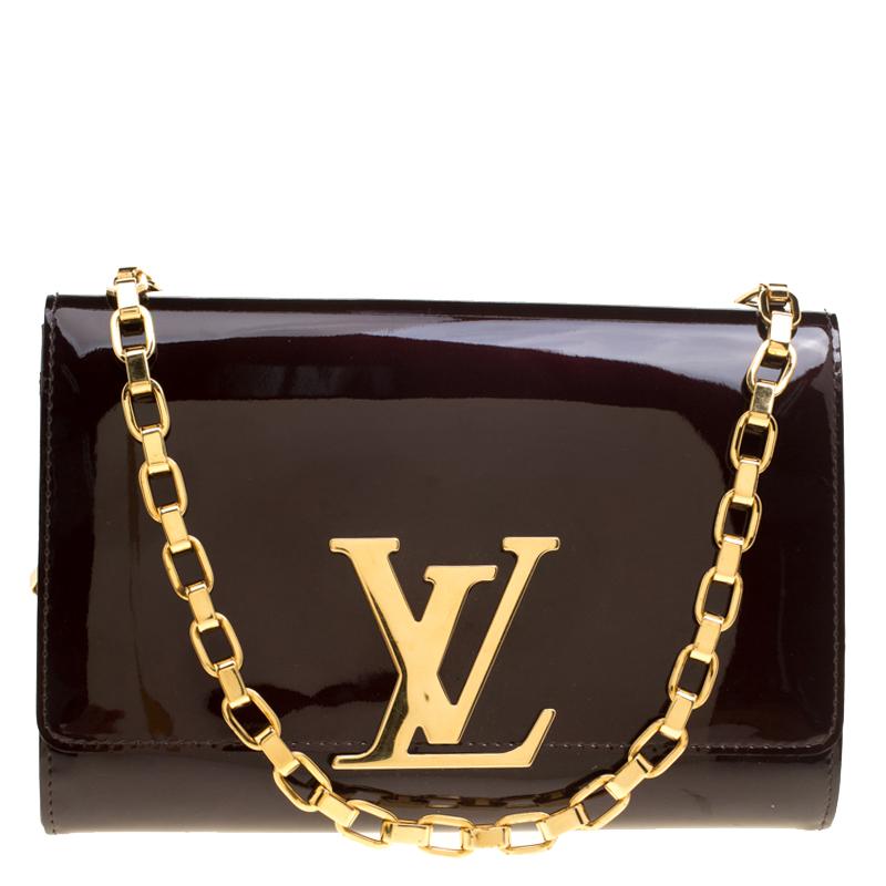 02fc65267fe2 ... Louis Vuitton Amarante Vernis Chain Louise MM Clutch. nextprev. prevnext