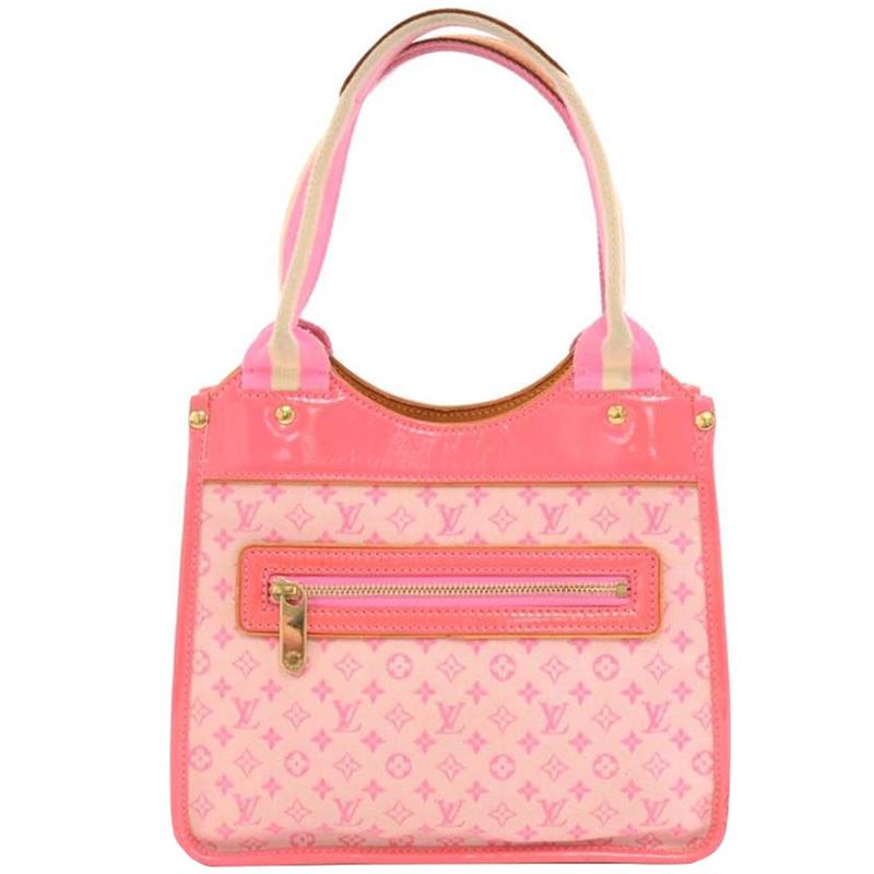 Buy Louis Vuitton Rose Monogram Mini Lin Sac Kathleen Bag 146575 at ... 5131bac3ba25