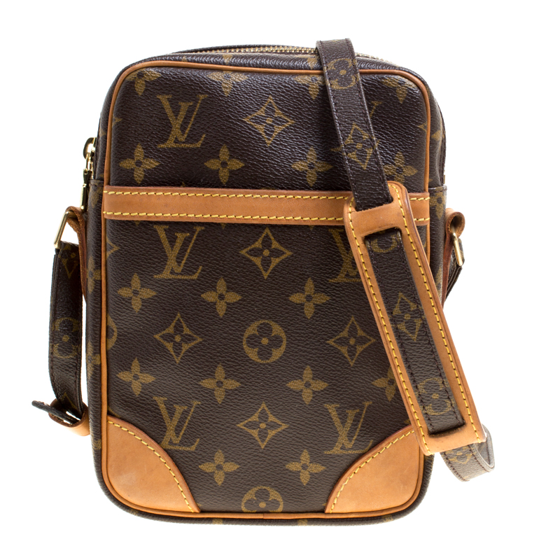 59d51b7caad Buy Louis Vuitton Monogram Canvas Danube Shoulder Bag 147031 at best ...