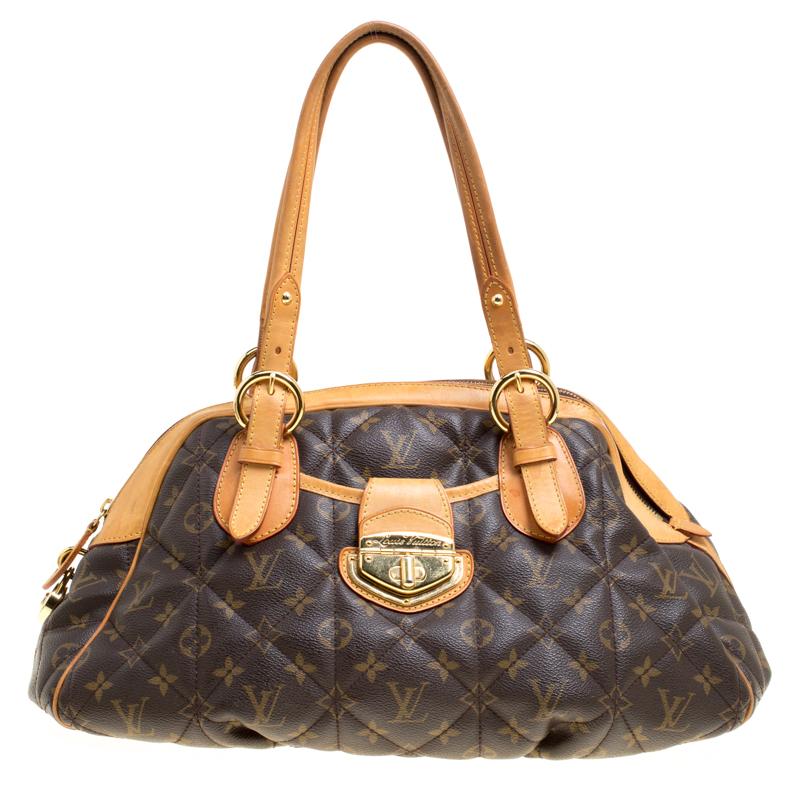 612f0b988a5b Buy Louis Vuitton Monogram Canvas Etoile Bowling Bag 147763 at best price