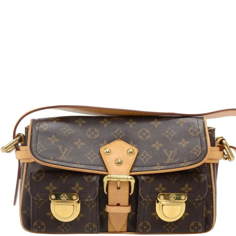 eb275a890f Buy Louis Vuitton Monogram Canvas Hudson PM Bag 149872 at best price ...