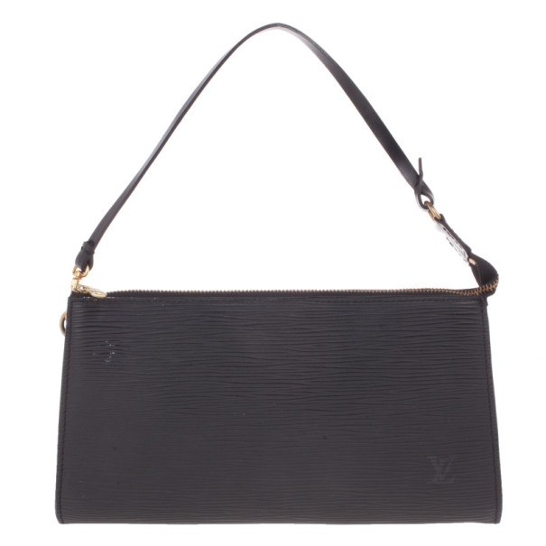 Buy Louis Vuitton Black Epi Pochette Accessoires 15044 at best price ... 1a77fa560b