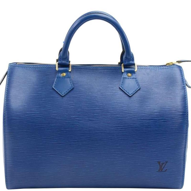65cfac637bfe ... Louis Vuitton Toledo Blue Epi Leather Speedy 30 Bag. nextprev. prevnext