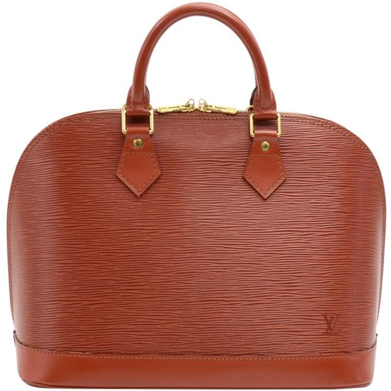 Фото #1: Louis Vuitton Kenyan Fawn Epi Leather Alma PM Bag