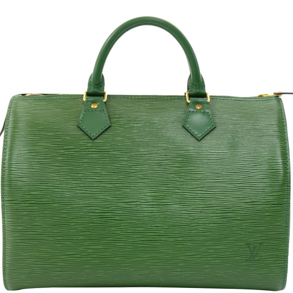 Buy Louis Vuitton Borneo Green Epi Leather Speedy 30 Bag 158111 at ... 50c34abd58