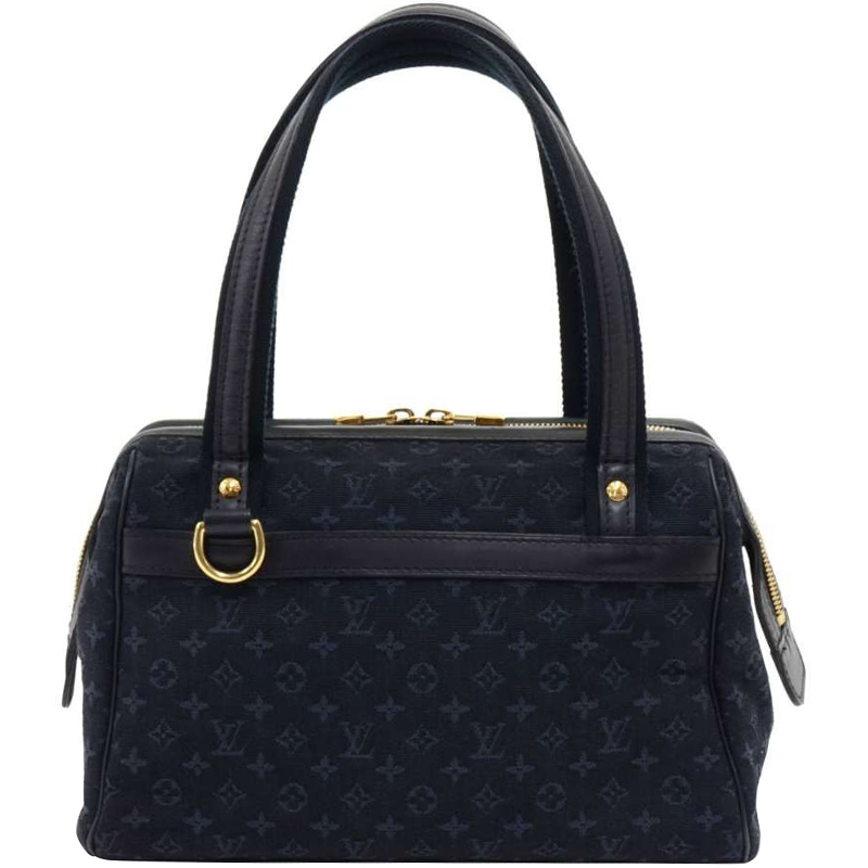 08f3f534d074 ... Louis Vuitton Navy Blue Monogram Mini Lin Josephine PM Bag. nextprev.  prevnext