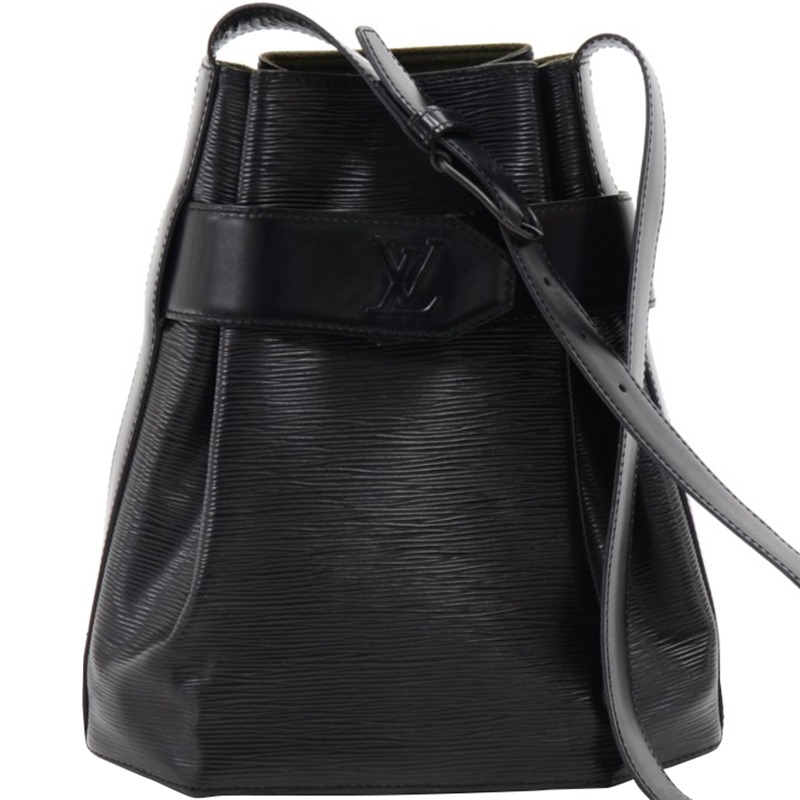 cef4f2515a1 Buy Louis Vuitton Noir Epi Leather Sac d Epaule Bag 158170 at best ...