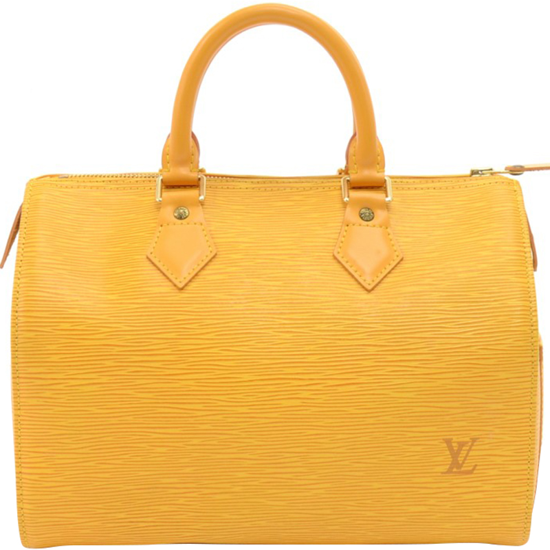 Buy Louis Vuitton Tassil Yellow Epi Leather Speedy 25 Bag 158179 at ... 555d0478c6