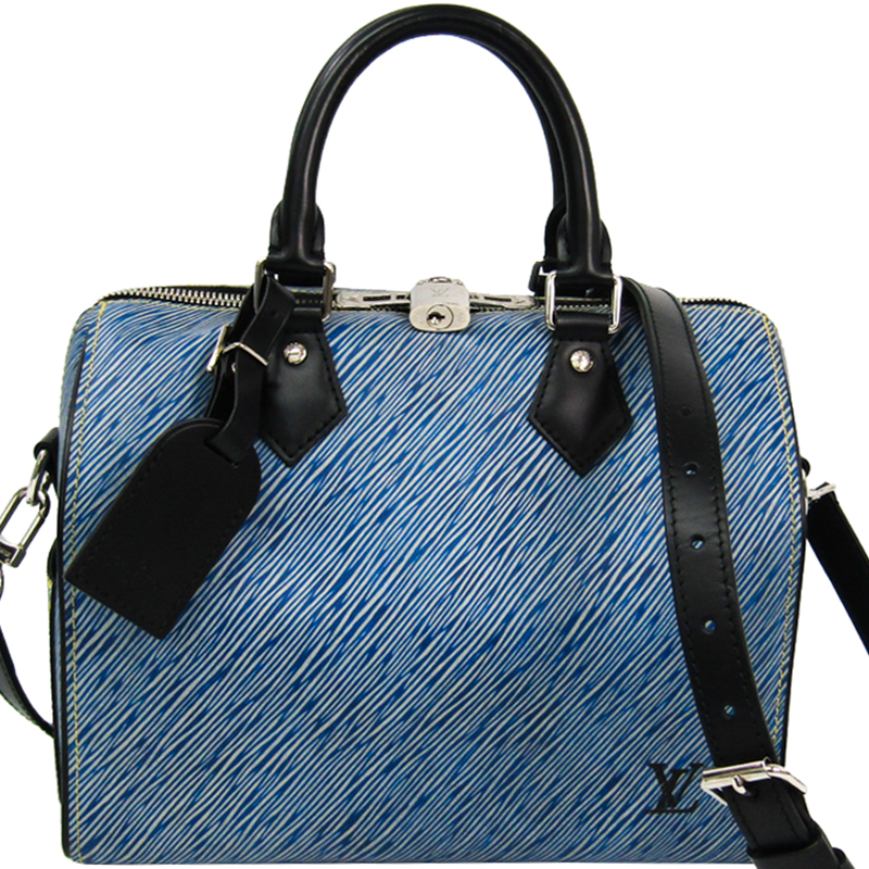 3c5ab35db6d6 ... Louis Vuitton Denim Epi Leather Speedy Bandouliere 25 Bag. nextprev.  prevnext
