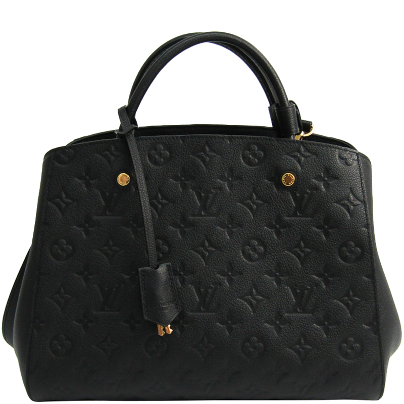 4c44306889514 ... Louis Vuitton Noir Monogram Empreinte Montaigne MM Bag. nextprev.  prevnext