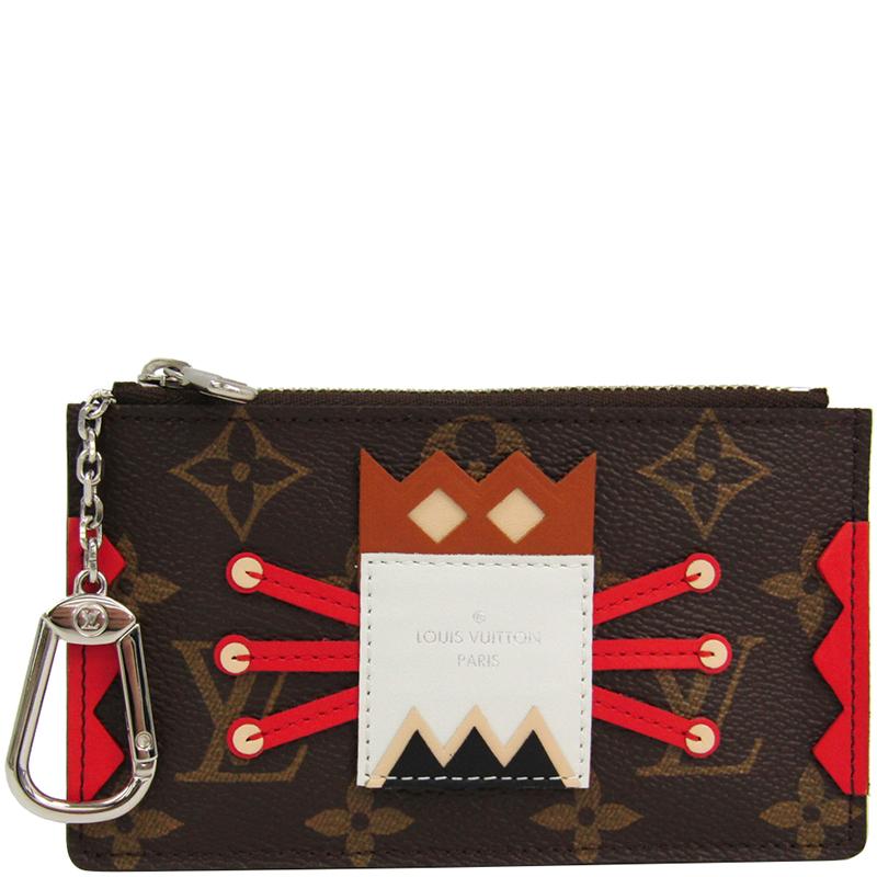 be05011aa866 ... Louis Vuitton Monogram Canvas Tribal Mask Key Pouch. nextprev. prevnext
