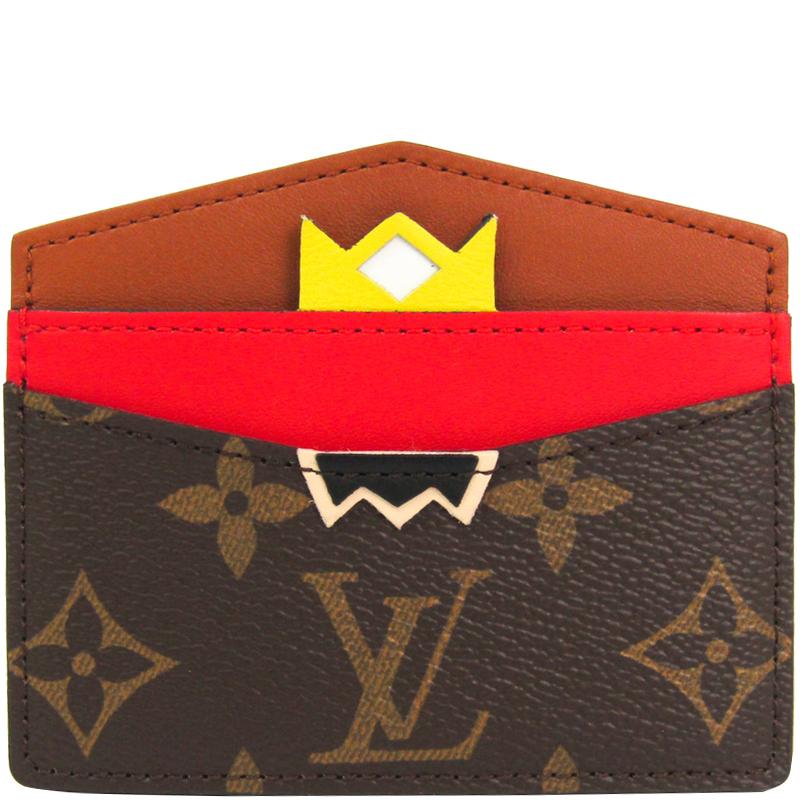 56c35db6d92 ... Louis Vuitton Monogram Canvas Tribal Mask Card Holder. nextprev.  prevnext