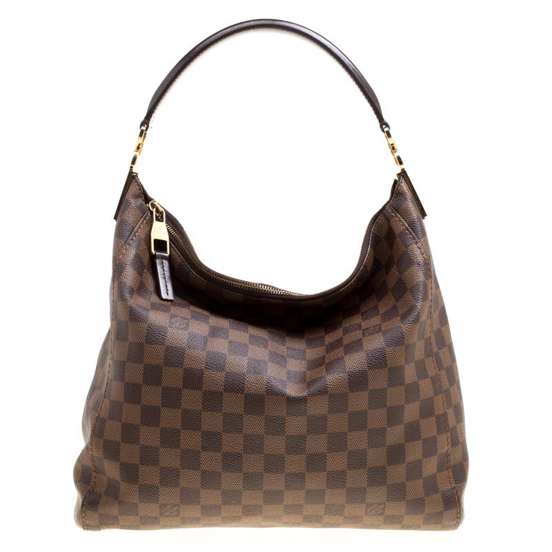 b7b5b807c174 ... Louis Vuitton Damier Ebene Canvas Portobello PM Bag. nextprev. prevnext