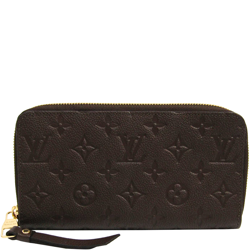 4458025c99d9 ... Louis Vuitton Terre Monogram Empreinte Leather Secret Long Wallet.  nextprev. prevnext