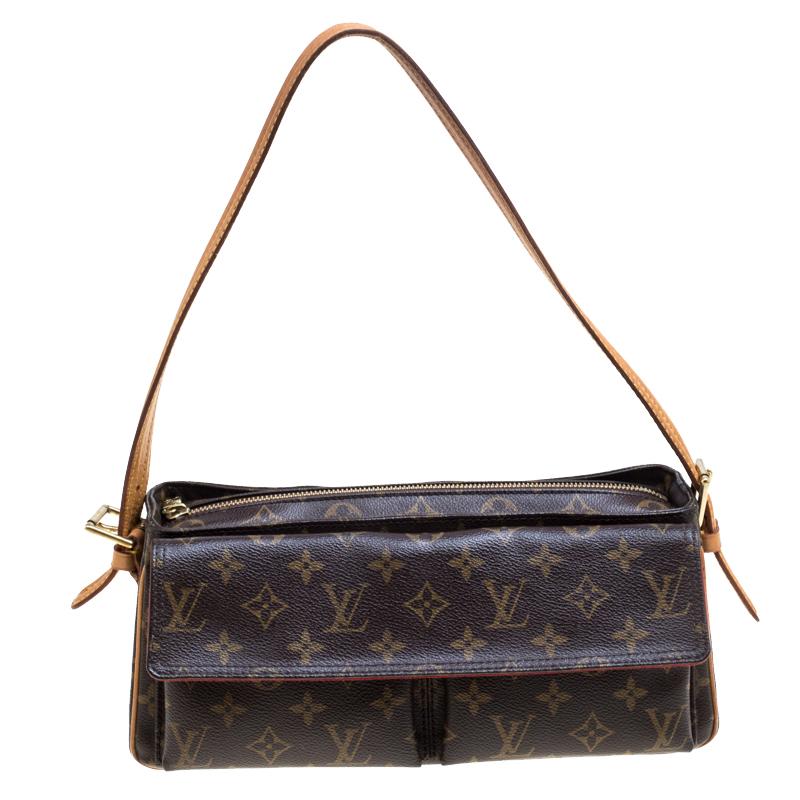 dcd860d6212d ... Louis Vuitton Monogram Canvas and Leather Viva Cite MM Bag. nextprev.  prevnext