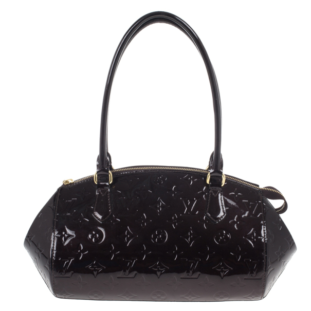 ... Louis Vuitton Amarante Monogram Vernis Sherwood PM Tote Bag. nextprev.  prevnext f9c46e7d35e1d