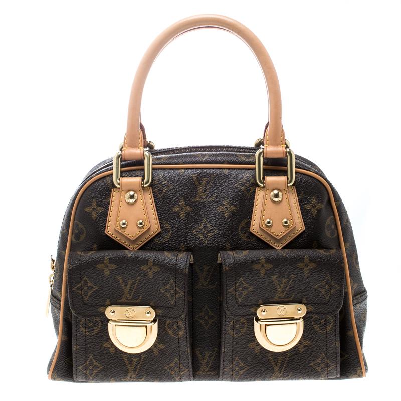 ca39588a9b48 ... Louis Vuitton Monogram Canvas and Leather Manhattan PM Bag. nextprev.  prevnext